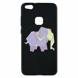Phone case for Huawei P10 Lite Elephant abstraction - PrintSalon