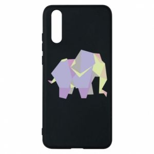 Phone case for Huawei P20 Elephant abstraction - PrintSalon