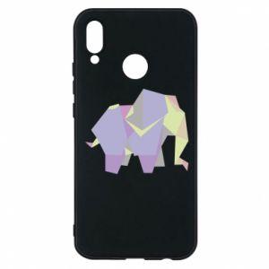 Phone case for Huawei P20 Lite Elephant abstraction - PrintSalon