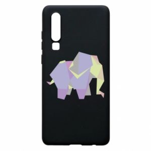 Phone case for Huawei P30 Elephant abstraction - PrintSalon