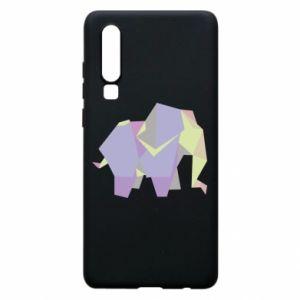 Etui na Huawei P30 Elephant abstraction