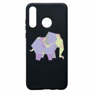 Etui na Huawei P30 Lite Elephant abstraction