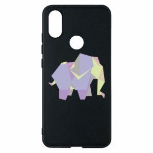 Phone case for Xiaomi Mi A2 Elephant abstraction - PrintSalon