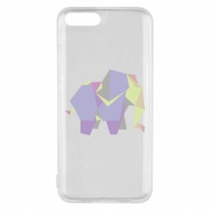 Phone case for Xiaomi Mi6 Elephant abstraction - PrintSalon