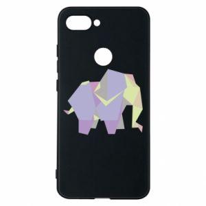 Phone case for Xiaomi Mi8 Lite Elephant abstraction - PrintSalon