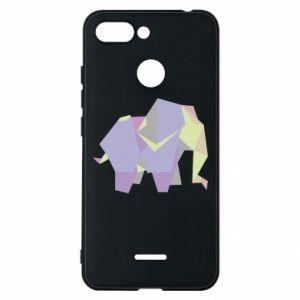 Phone case for Xiaomi Redmi 6 Elephant abstraction - PrintSalon