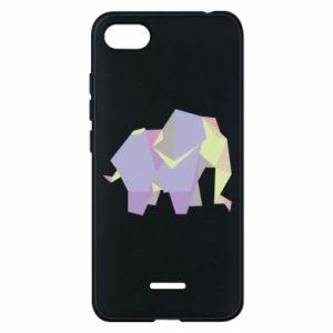 Phone case for Xiaomi Redmi 6A Elephant abstraction - PrintSalon