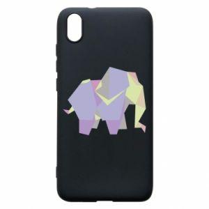 Phone case for Xiaomi Redmi 7A Elephant abstraction - PrintSalon