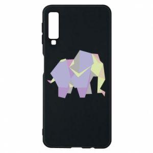 Etui na Samsung A7 2018 Elephant abstraction