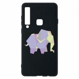 Phone case for Samsung A9 2018 Elephant abstraction - PrintSalon