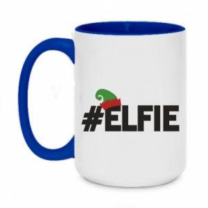 Kubek dwukolorowy 450ml #elfie