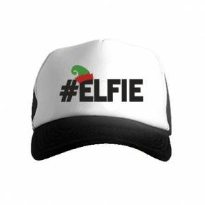 Czapka trucker dziecięca #elfie