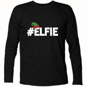 Koszulka z długim rękawem #elfie