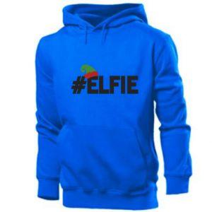 Męska bluza z kapturem #elfie