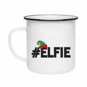Kubek emaliowany #elfie