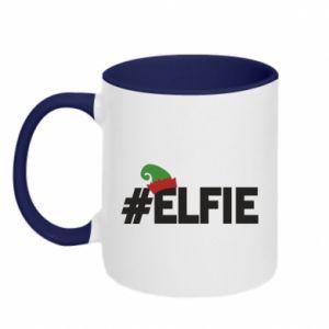 Kubek dwukolorowy #elfie