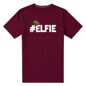 Męska premium koszulka #elfie