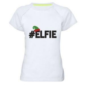 Koszulka sportowa damska #elfie