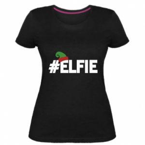 Damska premium koszulka #elfie