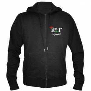 Men's zip up hoodie Ellf Squad