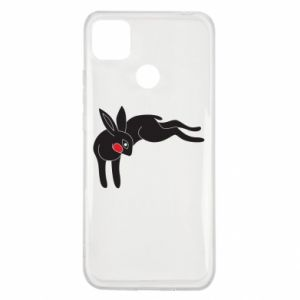 Etui na Xiaomi Redmi 9c Embarrassed black bunny