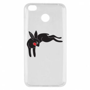 Etui na Xiaomi Redmi 4X Embarrassed black bunny