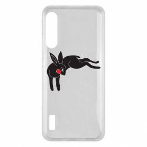 Etui na Xiaomi Mi A3 Embarrassed black bunny