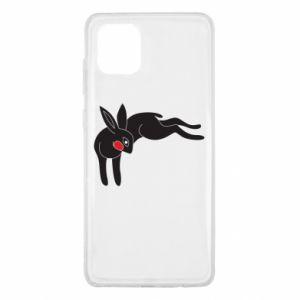 Etui na Samsung Note 10 Lite Embarrassed black bunny