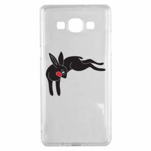 Etui na Samsung A5 2015 Embarrassed black bunny