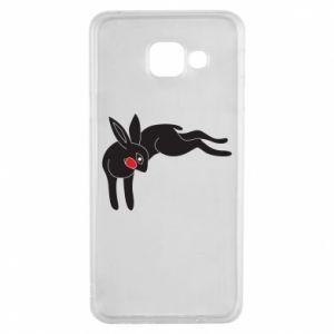 Etui na Samsung A3 2016 Embarrassed black bunny