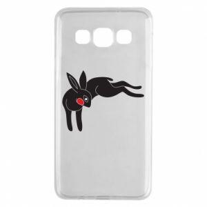 Etui na Samsung A3 2015 Embarrassed black bunny