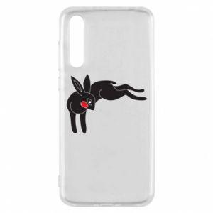 Etui na Huawei P20 Pro Embarrassed black bunny