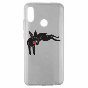 Etui na Huawei Honor 10 Lite Embarrassed black bunny