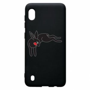 Etui na Samsung A10 Embarrassed black bunny