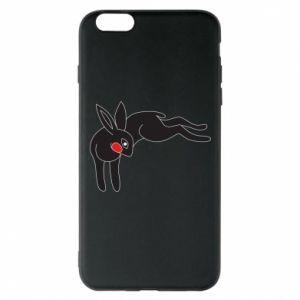 Etui na iPhone 6 Plus/6S Plus Embarrassed black bunny