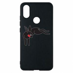 Etui na Xiaomi Mi A2 Embarrassed black bunny