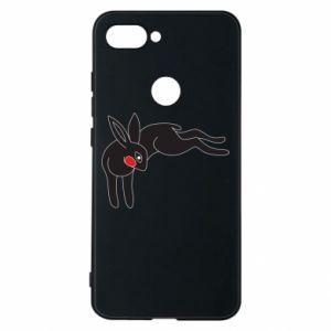 Etui na Xiaomi Mi8 Lite Embarrassed black bunny
