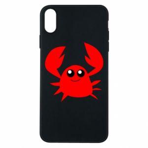 Etui na iPhone Xs Max Embarrassed crab