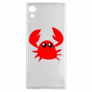 Etui na Sony Xperia XA1 Embarrassed crab
