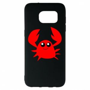 Etui na Samsung S7 EDGE Embarrassed crab