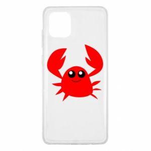 Etui na Samsung Note 10 Lite Embarrassed crab