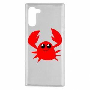 Etui na Samsung Note 10 Embarrassed crab