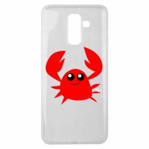 Etui na Samsung J8 2018 Embarrassed crab