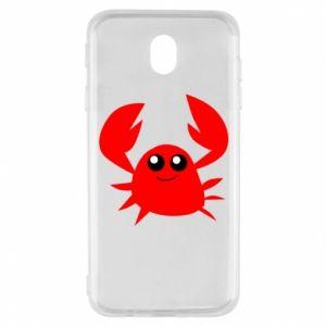 Etui na Samsung J7 2017 Embarrassed crab