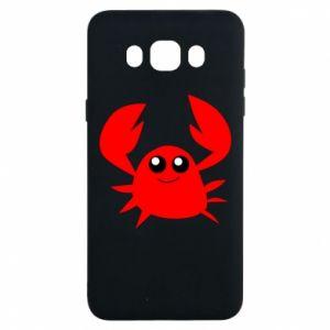 Etui na Samsung J7 2016 Embarrassed crab