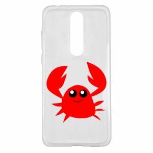 Etui na Nokia 5.1 Plus Embarrassed crab