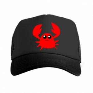Czapka trucker Embarrassed crab
