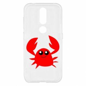 Etui na Nokia 4.2 Embarrassed crab