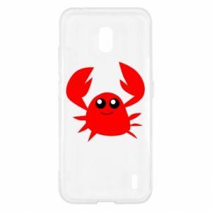 Etui na Nokia 2.2 Embarrassed crab