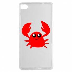 Etui na Huawei P8 Embarrassed crab